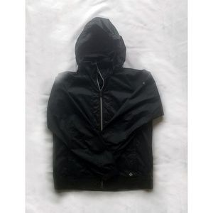 Columbia Black Rain Jacket Windbreaker